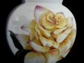 Gelbe Rose - Vase - 20cm