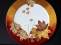 Herbstgold - Teller - 30cm