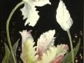 Künstlertulpen - Bildplatte - 20cm