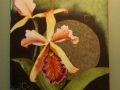 Orchidee - Bildplatte - 25cm