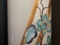 Orchidee-und Schmetterling - Vase - 50cm