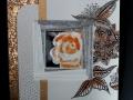 Rosen - Bildplatte - vertieft - 20cm