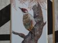 Bildplatte - Vogelmotiv Grünspecht