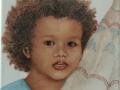 Bildplatte - 20cm - Portrait Leon
